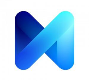 Logo de M de Facebook